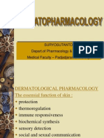Dermatological Pharmacology, Suryosutanto,Dr