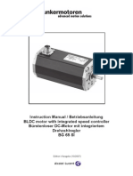 Instruction Manual-BG 65 SI Motor With Integrated Speed Controller