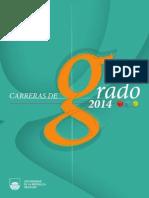 Carreras Universitarias 2014