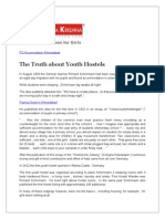 The Truth about Youth Hostels