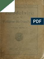 Baudelaire Et La religion du dandysme