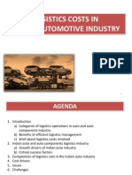 3- Logistic Cost in Automotive Industry