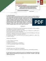 Evaluación diagnóstica español