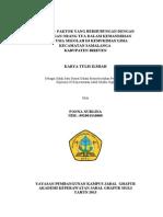 Fonna Nurlina KTI 2013 (Faktor2 Yg Berhubungan Dgn Kemandirian Anak Usia Sekolah Dikemukiman Lima Kec.samalanga Kab.bireuen Thn 2013)