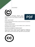 Derechos de Autor en Internet