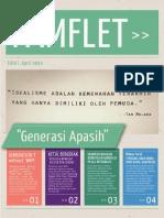 Pamflet Newsletter #1