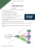 ROUTE 642-902 Training » EIGRP OSPF Redistribution Sim