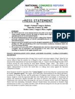 Press Statement_October 22, 2009