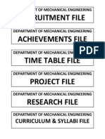 Index Page for File