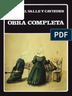 Juan Del Valle y Caviedes - Obras Completas