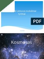 Naujausi Lietuvos Moksliniai Tyrimai