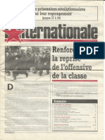 L'Internationale, No. 10, September/October 1984