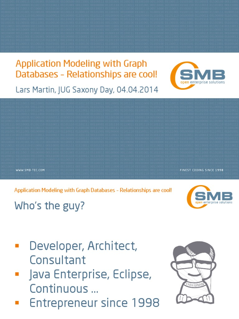 Application Modeling With Graph Databases - Relationships