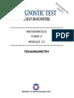 Module 13 Maths