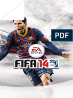 Fifa 14 Manuals for Sony Playstation 3