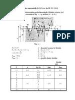 Filete Metrice Trapezoidale ISO