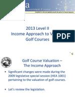 Level II Golf Course Final 2014