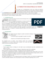 DOC1 La Fabrication Industrielle Du Yaourt