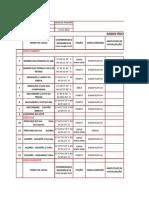 Tabela Locais de Paisagem