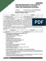 Monografie Contabila - Fonduri Nerambursabile