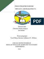 Laporan Praktikum Bab 2resmi Tipe Data Abstrak(Struct)