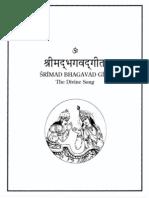 ShrimadBhagavadGita Balraj EnglishSanskritHindi