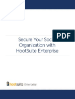 Secur Your Social Organization With Hootsuite