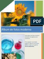 Album de Fotos Moderno