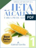 Dieta Alcalina 1_ Tabla Del pH de Los Al - Gavina, Gabriel