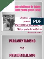 6. El Segundo Gobierno de Alessandri Palma