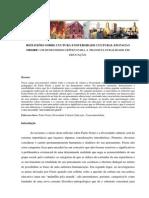 Reflexões sobre cultra e diversidade cultural em Paulo Freire