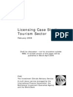 Licensing Case Studies - Tourism Sector (Final)