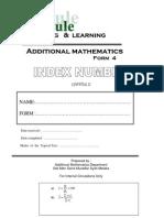 add math index number
