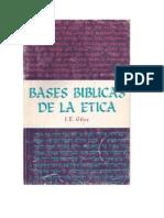 Bases Biblicas de a Ética