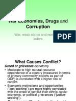 War Economies, Drugs and Corruption