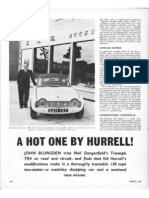 SAH - Triumph TR4 - Sports Car - July 1962