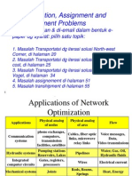 Transportation Assignment & Transshipment Problems-Solving