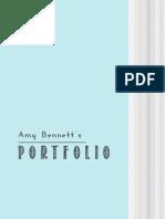 Amy Bennett's Design Portfolio