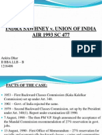 Indra Sawhney v. Union of India