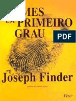 Finder, Joseph - Crimes Em Primeiro Grau