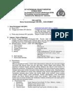 Surat Keterangan Visum Et Repertum Format Unhas Korban Hidup