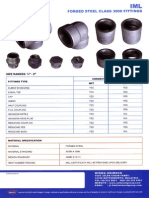 IML Forged Steel Class 3000 Fittings