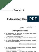 Teorico 11 Indexacion y Hashing