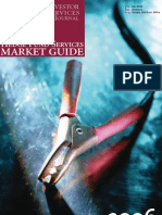 INVESTOR SERVICES JOURNAL HEDGE FUND SERVICES MARKET GUIDE 2006