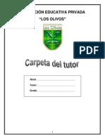 Carpeta del tutor 2013 - Noé Zevallos