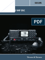 6222 VHF DSC User Manual