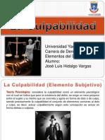 La Culpabilidad en El Derecho Penal Venezolano
