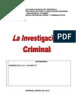 Investigacion Criminal Isamar