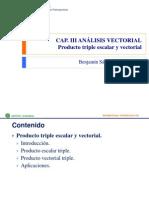 3-5 Producto Triple Escalar y Vectorial