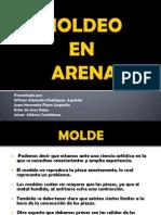 Moldes en Arena